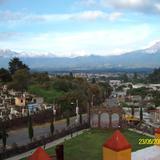 Vista de los Volcanes desde Tepetlixpa