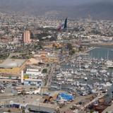 Fotos de Ensenada, Baja California: la bandera y los barkitos