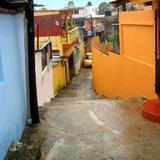 Colorido callejón