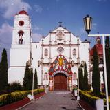 Portada de la parroquia de Tenango del Valle, Edo. de México