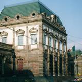 Edificio de arquitectura francesa. Tenango del Valle, Edo. de México