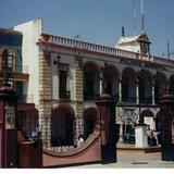 Vista del Palacio municipal de San Francisco del Rincón, Guanajuato