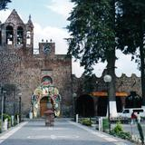 Atrio y parroquia de San Mateo Atenco, Edo. de México