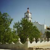 Atrio y parroquia de la comunidad de San Pedro Tetitlán, Puebla