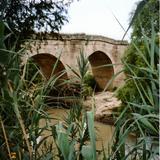 Puente colonial sobre el Río Lerma. Acámbaro, Guanajuato
