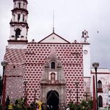 Fachada del Ex-convento de la Asunción, siglo XVI. Amecameca, Edo. de México