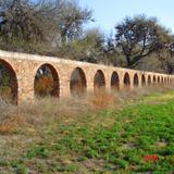 Acueducto de la huerta, de la ex Hacienda de Peotillos