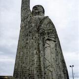 Estatua y mirador de José Ma. Morelos en la Isla de Janitzio, Michoacán