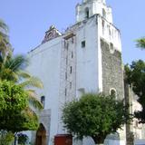 Fachada del Ex-convento del siglo XVI. Tlaquiltenango, Morelos