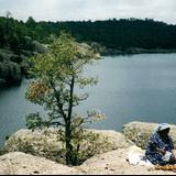 Indígena Tarahumara en el Lago de Arareco, Chihuahua. 2002