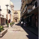 Calle peatonal en el centro de Celaya, Gto. 2000