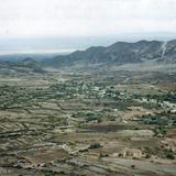 Panorámica del altiplano potosino y la comunidad de Potrero, San Luis Potosí. 2006
