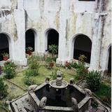 Fuente y claustro del siglo XVI. Ex-convento de Ocuituco, Morelos. 2004