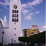 Torre de la catedral de San Marcos y Blvd. Belisario Dom�nguez. 2002
