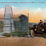 Monumento Fronterizo entre los Estados Unidos y México