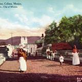 Vista de una calle de Colima