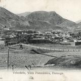 Vista panorámica de Velardeña