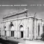 Construcci�n del Templo Expiatorio del Sagrado Coraz�n