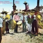 Banda de m�sica ind�gena