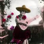 Se�orita con guitarra