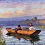 Indígenas del lago de Pátzcuaro