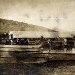 Embarcaciones en el lago de P�tzcuaro