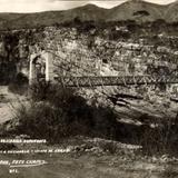 Puente colgante Belizario Dom�nguez