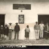 Efrén M. Castro. Comerciante. Av. Veracruz