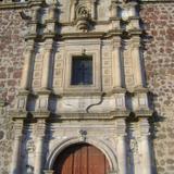 Fachada en cantera de la parroquia de la Pur�sima. Tequila. Noviembre/2011