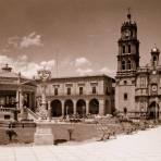 Jard�n Hidalgo y Catedral