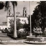 Jard�n y Parroquia de Cuautla