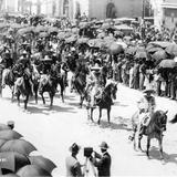Desfile del primer centenario de consumación de la Independencia en 1921
