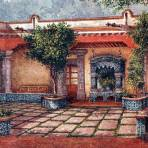 Patio colonial
