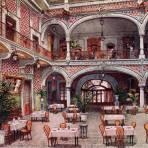 Restaurante del Hotel Arronte en Puebla