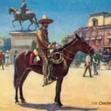 Un charro en México