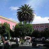 Postal de centro de Texcoco
