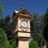 Reloj de atrio de la iglesia
