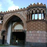 Arquitectura de estilo árabe. San Juán del Río, Qro. Marzo/2012