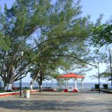 Plaza Central de Atasta, Campeche. Abril/2012