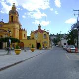 Templo de la Soledad y calles del centro de Cadereyta. Marzo/2012