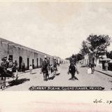 Una calle de Ciudad Ju�rez