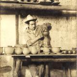 Alfarero en San Martín Texmelucán