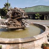 Fuente y explanada de la ex-hacienda Corralejo. Noviembre/2012