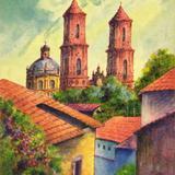 Templo de Santa Prisca, en Taxco