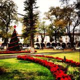 Plaza Vasco de Quiroga en Navidad