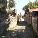 Calles del pueblo minero El Chico, Hidalgo. Mayo/2013