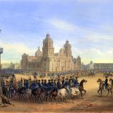 Invasión estadounidense de 1847: Gral. Scott entrando a la Ciudad de México
