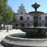 Fuente y Palacio Municipal