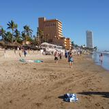 Playa Zona Dorada.
