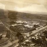 Vista a�rea de la Avenida Xalapa en el a�o de 1963